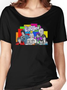 the Wedding Singer character collage Women's Relaxed Fit T-Shirt