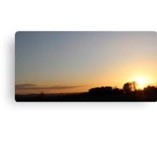 Sunset Canvas Print