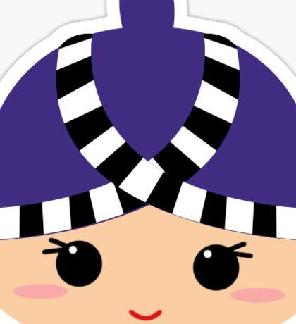 Hmong Girl Sticker