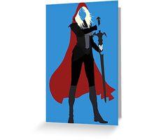 Celaena Sardothien   Queen of Shadows Greeting Card