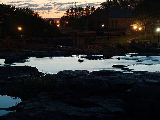 Dawn Above The Sioux Falls by Scott Hendricks