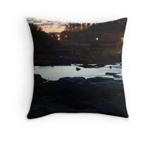 Dawn Above The Sioux Falls Throw Pillow