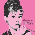 Audrey Hepburn - Pop Art Portrait by Mdgraphix