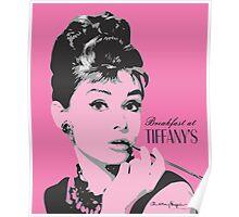 Audrey Hepburn - Pop Art Portrait Poster