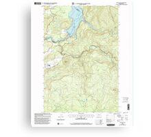 USGS Topo Map Washington State WA Yale Dam 244831 2000 24000 Canvas Print