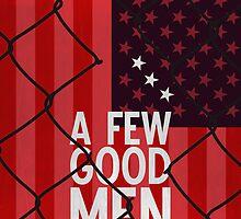 A Few Good Men - Minimalist Movie Poster by minimalistmovie