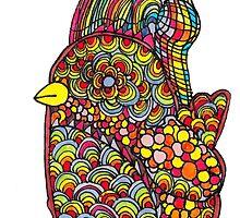 Rainbow Chick by Kaylin Watchorn