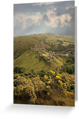 Corfe Castle by Patricia Jacobs CPAGB LRPS BPE3