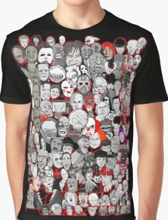 Titans of Horror Graphic T-Shirt