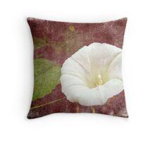 Bindweed - The Wild Perennial Morning Glory Throw Pillow