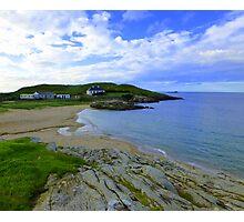 An Irish Cove For Dean Photographic Print