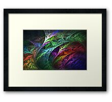 Echoes from the past Framed Print
