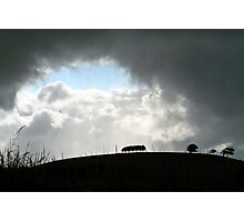 Storm Brewing Photographic Print