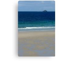 Cornish Beach Canvas Print