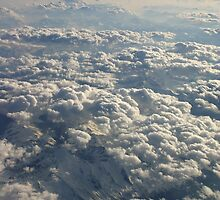 The Alps from the air. by mooneyes