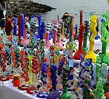 Glass Bongs by FloraDiabla