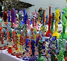 Glass Bongs by FloraDiabla