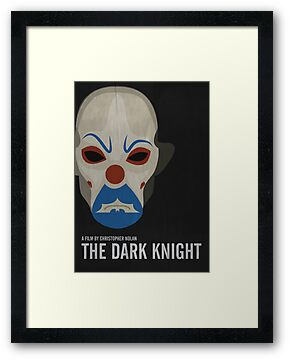 The Dark Knight - Minimalist Movie Poster by minimalistmovie