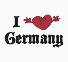 I Love Germany T-Shirt T-Shirt