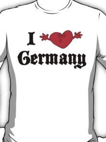 I Love Germany T-Shirt T-Shirt