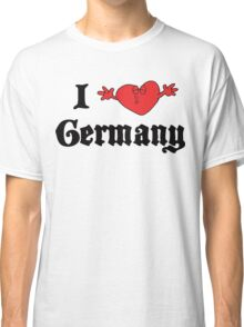 I Love Germany T-Shirt Classic T-Shirt