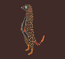 Abstract Meerkat by Daniel Bevis