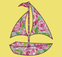 Lilly Pulitzer Inspired Sailboat First Impression Kids Clothes