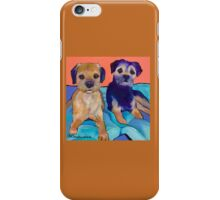 Teddy and Max iPhone Case/Skin