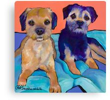 Teddy and Max Canvas Print