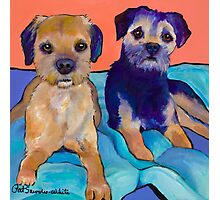 Teddy and Max Photographic Print