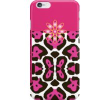 The Katy Phone / Fuchsia Fantasy Leopard iPhone Case/Skin