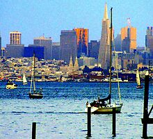 San Francisco Skyline... by Sherry Russell
