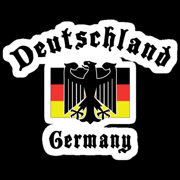 Deutschland Germany T-Shirt by HolidayT-Shirts