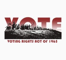 Politics: Voting Rights Act 1965 by vjewell