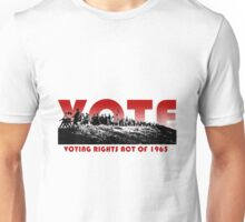 Politics: Voting Rights Act 1965 Unisex T-Shirt