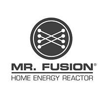 Back to the Future II Mr. Fusion Logo by ocdc