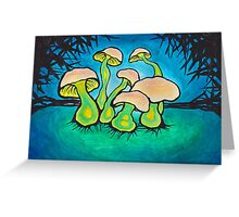 ah shrooms Greeting Card