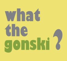 what the gonski? One Piece - Short Sleeve