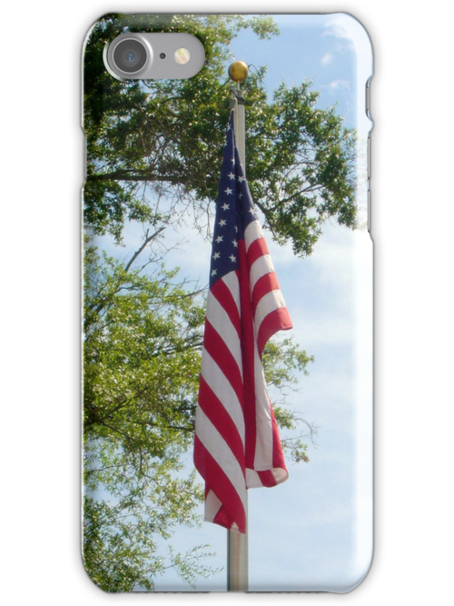 Old Glory (iPhone Case) by AuntDot