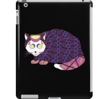 Abstract Cat [WHITE] iPad Case/Skin