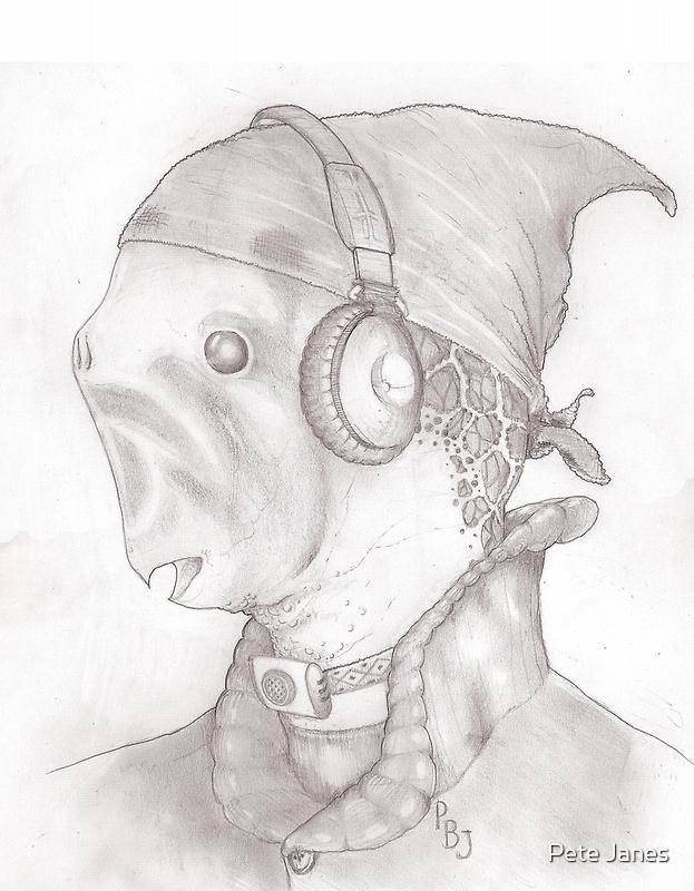 RoyJoe The Fishmonger by Pete Janes