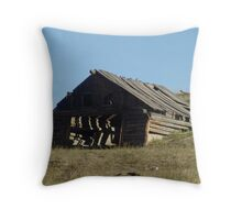OLD BUILDING TECHNOLOGY Throw Pillow