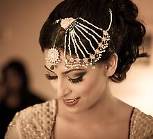 Bride  by naureen bokhari