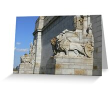 The Shrine of Rememberance Greeting Card