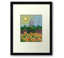 The Sunflower Garden  Framed Print
