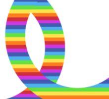 rainbow girls & boys Sticker