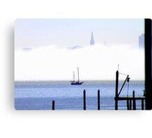 Fog Bank... Canvas Print