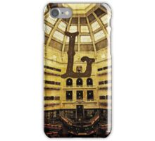 Grungy Melbourne Australia Alphabet Letter L State Library of Victoria iPhone Case/Skin