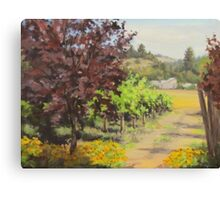 Melrose Morning Canvas Print