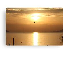 Sausalito Sunrise Canvas Print